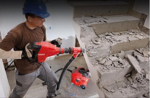 Демонтажные работы - демонтаж бетона, дробление бетона, снос зданий, фото — «Реклама Керчи»