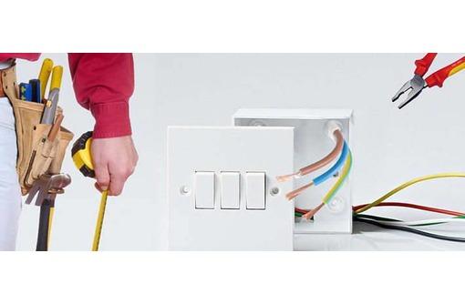 Опытный электрик выполнит все виды электромонтажных работ., фото — «Реклама Ялты»