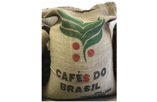 Свежеобжаренный кофе от обжарщика без посредников. Арабика Бразилия Сантос 1,0 кг, фото — «Реклама Севастополя»
