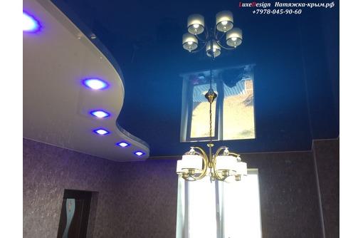 Натяжные потолки на любой вкусс Лаковые матовые Фотопечать, фото — «Реклама Коктебеля»