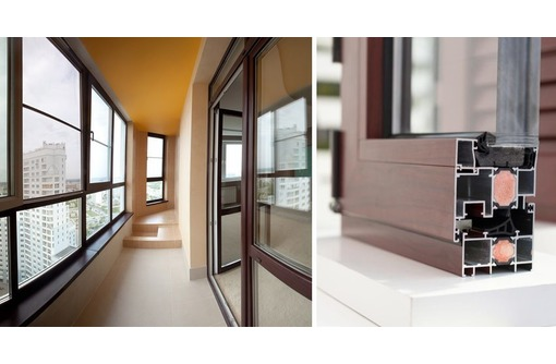Балкон алюминиевый Татпроф теплый, фото — «Реклама Севастополя»