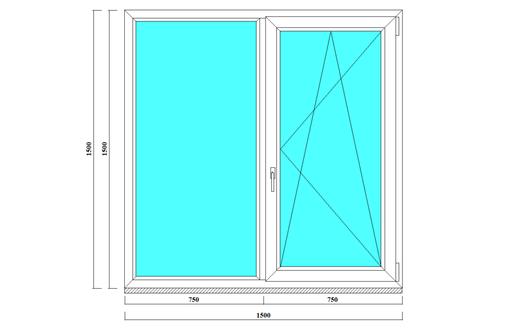 Окна металлопластиковые Elex, 58мм, фото — «Реклама Севастополя»