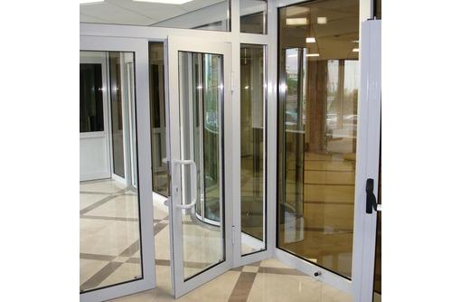 Двери алюминиевые Alneo холодные, фото — «Реклама Севастополя»