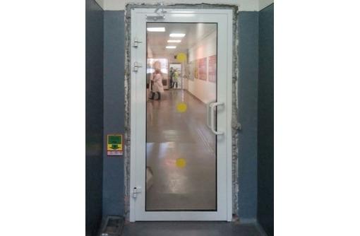 Двери алюминиевые Krauss холодный 1,8х2м, фото — «Реклама Севастополя»