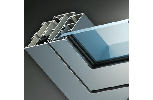 Окна алюминиевые Krauss холодные 1400*1400мм, фото — «Реклама Севастополя»
