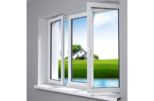 Окна металлопластиковые KBE 58 1,4х1,4м, фото — «Реклама Севастополя»
