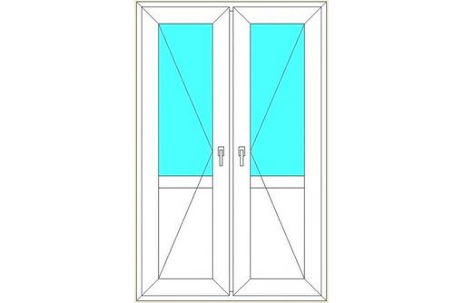 Двери металлопластиковые Rehau 70мм, фото — «Реклама Севастополя»