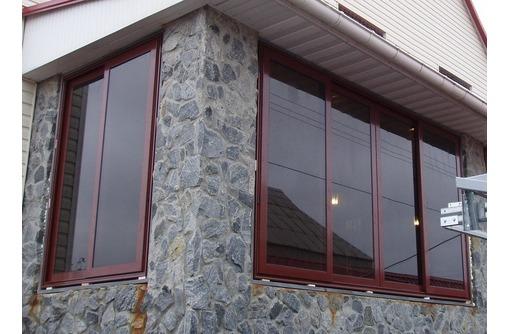 Окна алюминиевые Krauss холодные 1100*1500мм, фото — «Реклама Севастополя»