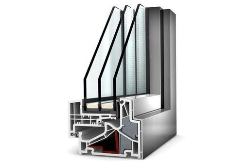 Окна алюминиевые Krauss теплые 1500*1500мм, фото — «Реклама Севастополя»
