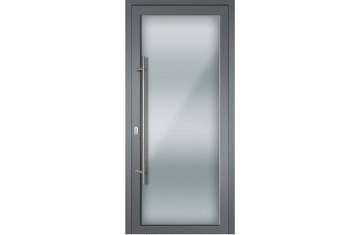 Двери одностворчатые алюминиевые Alneo холодные, фото — «Реклама Севастополя»