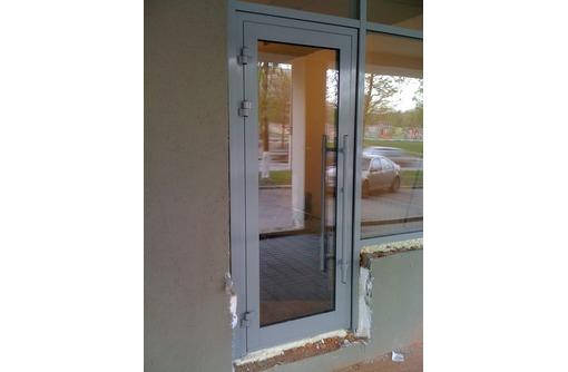 Двери алюминиевые Alneo теплые 1000*2000мм, фото — «Реклама Севастополя»