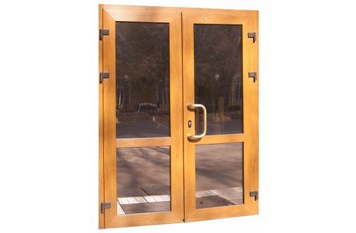 Двери металлопластиковые Krauss 58мм 1,3х2м, фото — «Реклама Севастополя»