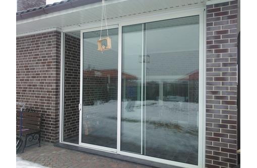 Окно раздвижное алюминиевое Алютех 1500*1500 мм, фото — «Реклама Севастополя»