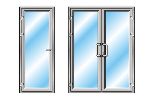 Двери алюминиевые холодные в Севастополе, фото — «Реклама Севастополя»