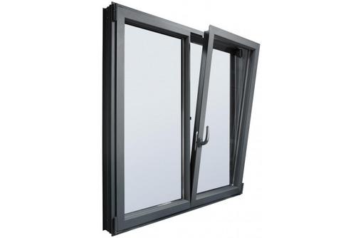 Окна алюминиевые Krauss холодные 1700*1700мм, фото — «Реклама Севастополя»