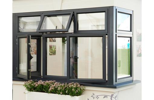 Окна алюминиевые Krauss холодные 2000*1500мм, фото — «Реклама Севастополя»