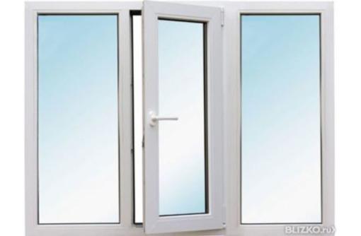 Окно раздвижное металлопластиковое, фото — «Реклама Севастополя»