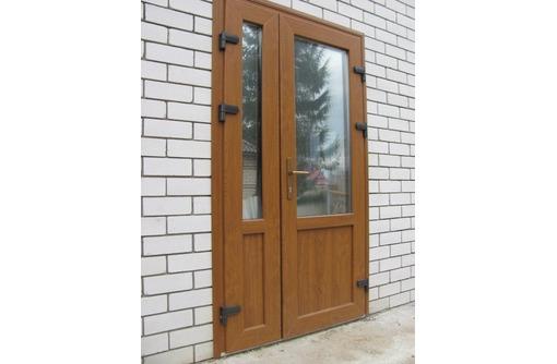 Дверь металлопластиковая, фото — «Реклама Севастополя»