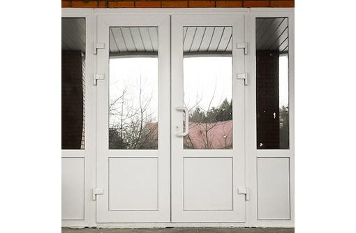 Двери металлопластиковые Rehau 60мм, фото — «Реклама Севастополя»