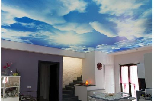 Натяжной потолок с фотопечатью, фото — «Реклама Севастополя»