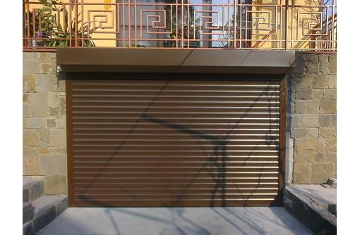 Роллета 2000x1950 (гаражные роллеты), фото — «Реклама Севастополя»