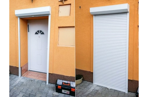 Роллеты в дверной проем 800 × 2000, фото — «Реклама Севастополя»