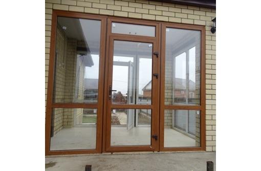 Двери металлопластиковые Krauss 58мм 1*2м, фото — «Реклама Севастополя»