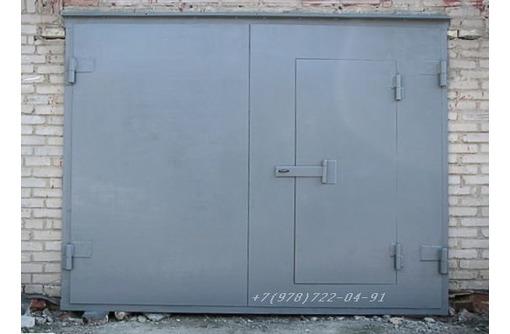 Ворота  металлические распашные, фото — «Реклама Севастополя»