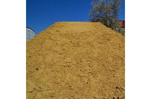 Песок карьерный мытый крупнозернистый, фото — «Реклама Севастополя»