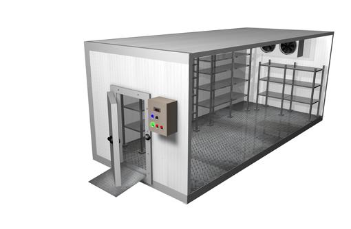 Монтаж холодильных камер в Севастополе, фото — «Реклама Севастополя»
