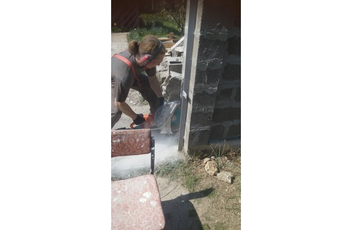 Демонтаж, резка, сверление стен в Севастополе, фото — «Реклама Севастополя»
