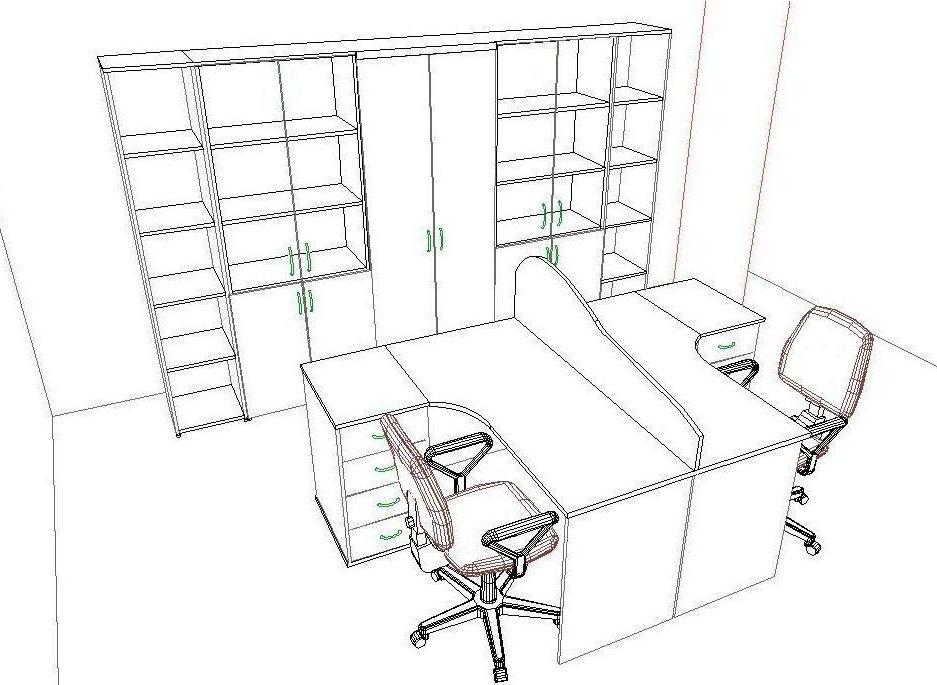 Выполнение проектов-расстановок мебели.