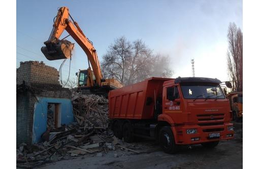 вывоз строительного мусора в Алуште недорого, фото — «Реклама Алушты»
