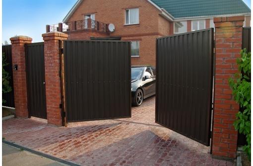 Распашные ворота 3625x2085мм, фото — «Реклама Севастополя»