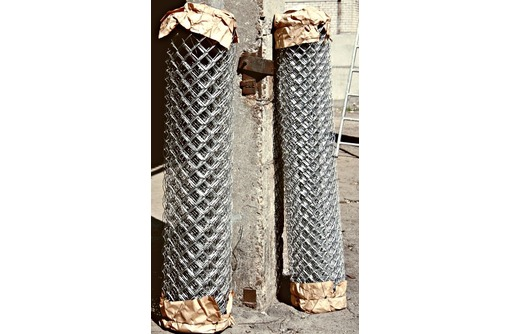 Оцинкованная сетка рабица., фото — «Реклама Белогорска»