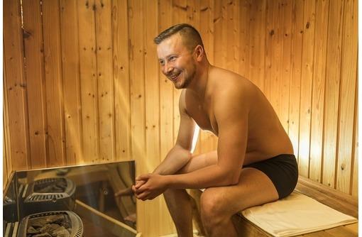 Мужской банный день русская баня, фото — «Реклама Ялты»