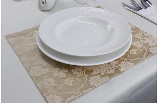 Скатерти, салфетки, чехлы для ресторанов, фото — «Реклама Симферополя»