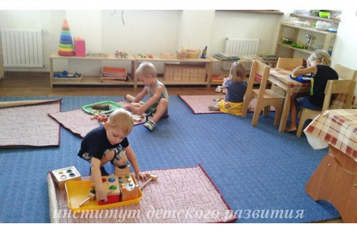 Открыт набор детей 3-5 лет на курс занятий по системе Монтессори, фото — «Реклама Севастополя»