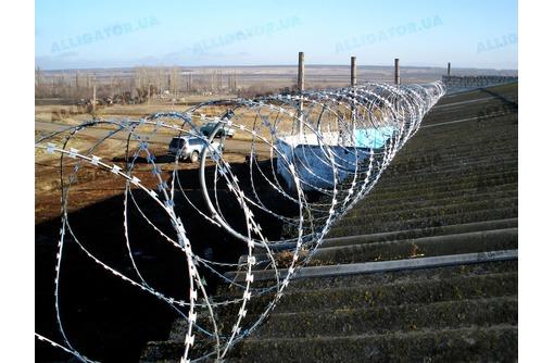 Спиральное Колючее заграждение  Егоза, фото — «Реклама Севастополя»