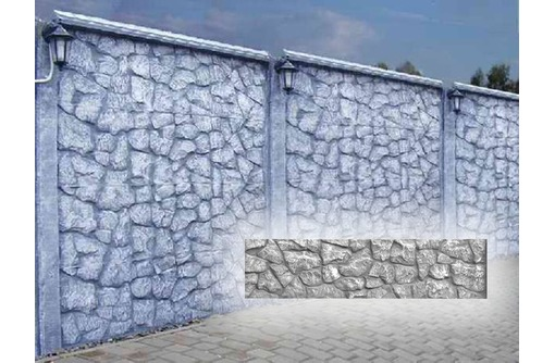 Еврозабор Дикий камень ИП Судак, фото — «Реклама Севастополя»