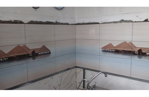 Кладка кафеля,перетирка стен,потолка,ламинат,вагонка., фото — «Реклама Севастополя»