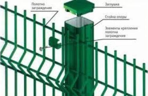 3D ограждения от производителя, фото — «Реклама Красногвардейского»