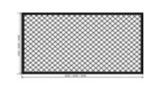Заборные секции из сетки рабицы под ключ, фото — «Реклама Симферополя»