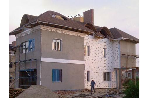 Утепление домов, фасадные работы. Камешковая штукарутка., фото — «Реклама Севастополя»