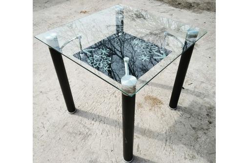Стол стеклянный для кафе, для дома., фото — «Реклама Севастополя»