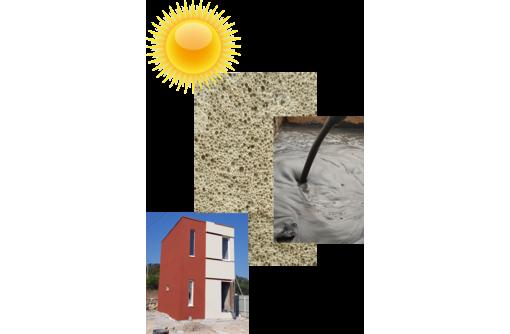 Строительство домов из теплого бетона от 8 000 м/2, монтаж кровли, теплая стяжка пола в Севастополе, фото — «Реклама Севастополя»