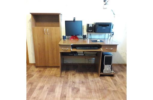 Продам срочно компьютерный стол,тумба,полка в отличном состоянии всего 3000 руб., фото — «Реклама Севастополя»