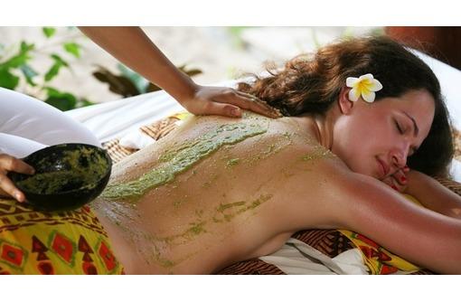гелево-водорослевое обертывание, уход за лицом и волосами, фото — «Реклама Севастополя»