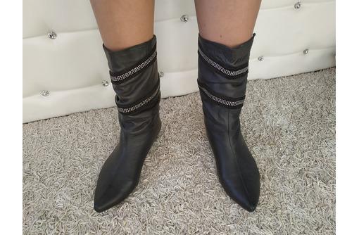 Продам новые женские сапоги натур.кожа 37-38 р, фото — «Реклама Севастополя»