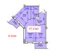 Крым. Судак. Продаю 2-комнатную квартиру за 3.515.000 руб ( 58 м2) - Квартиры в Судаке
